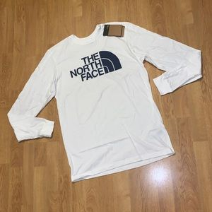 NWT The North Face Long Sleeve Half Dome Tee, M